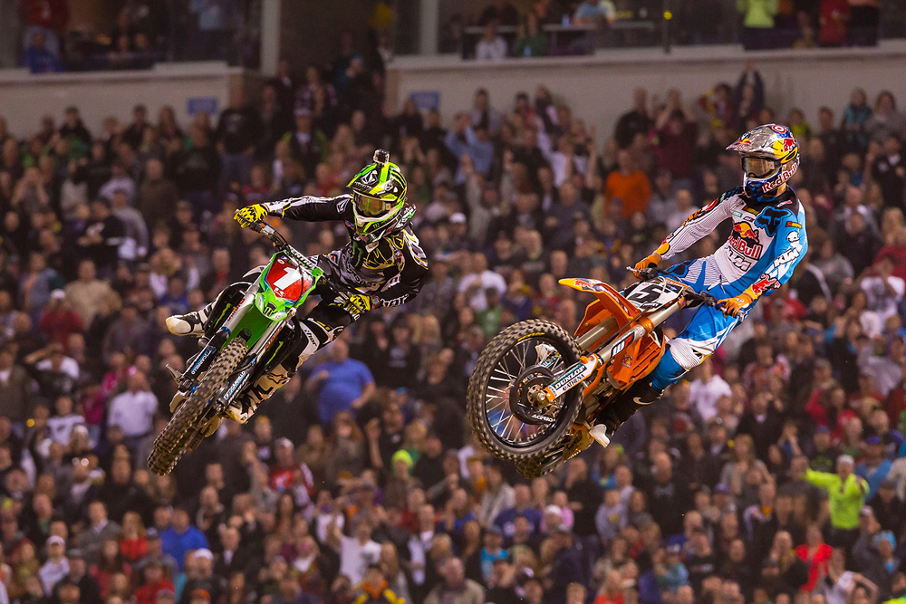 ONLY FOUR ROUNDS REMAIN, AS MONSTER ENERGY SUPERCROSS PREPARES TO HEAD TO HOUSTON
